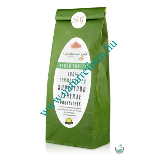 Sambirano Gold – Superfood Növényi Fehérjepor 500 g – Natur Reform