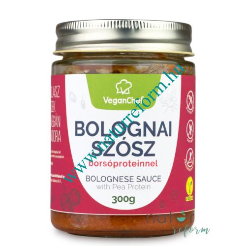 VeganChef Bolognai szósz borsóproteinnel 300 g – Natur Reform