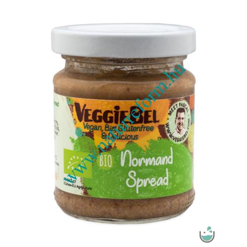 VeggieBel Vegán Bio Pástétom Normandi ízesítésű 115 g – Natur Reform