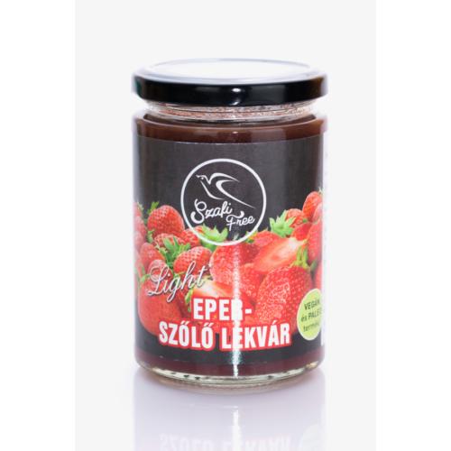 Szafi Free eper-szőlő lekvár 350 g – Natur Reform
