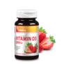 Kép 1/3 - Vitaking Epres D3-Vitamin rágótabletta 2000NE – 90 db